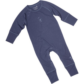 Isbjörn Husky Jumpsuit Baselayer Spedbarn denim